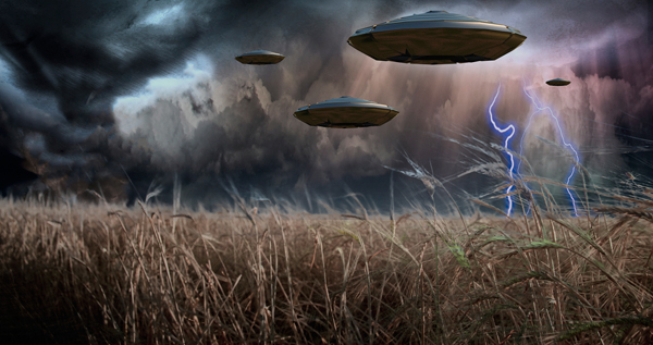 Scary UFO