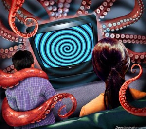 Has the media got you in its tentacles?  Attribution: www.deesillustration.com