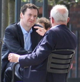 George Osborne at Bilderberg 2014