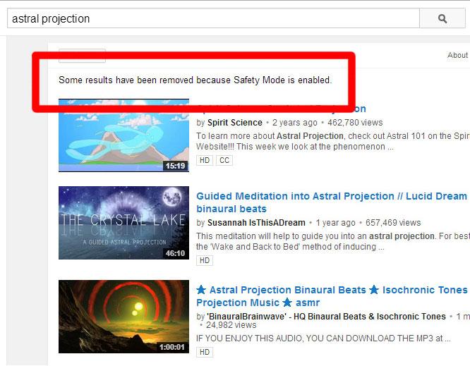 Youtube Safety Mode Censorship: Latest Battleground in the War on