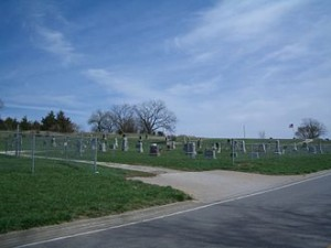 Stull cemetery, rumoured to house one of the 'seven gateways to hell on earth' Source
