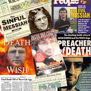 David Koresh vilified in the media