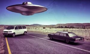 Ufo in the Desert