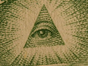 Symbol of the all-seeing eye Source
