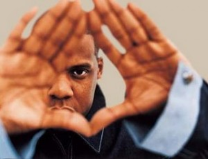 Jay-Z who popularised the all-seeing eye symbol Source