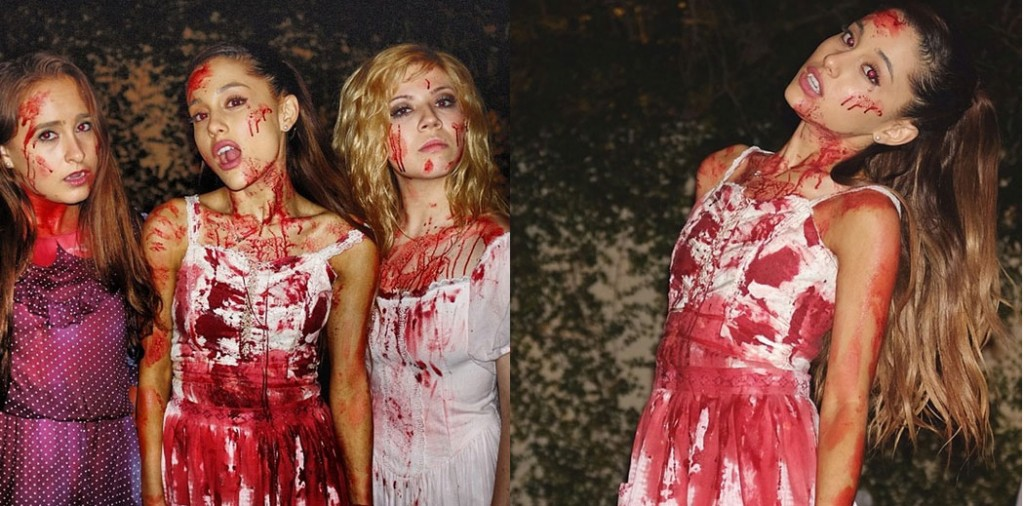 Ariana-Grande-Jennette-McCurdy-Fake-Blood