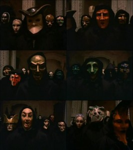 "Masks in Kubrick's film ""Eyes Wide Shut"" Source"